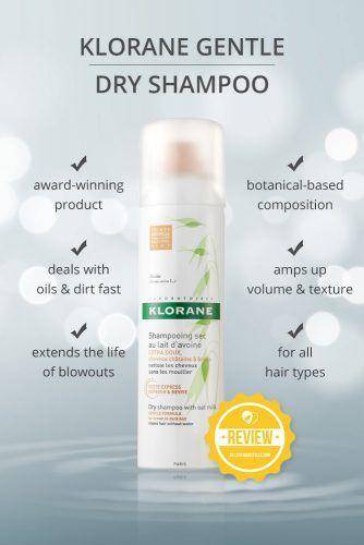 Klorane Gentle Dry Shampoo #dryshampoo #shampoo