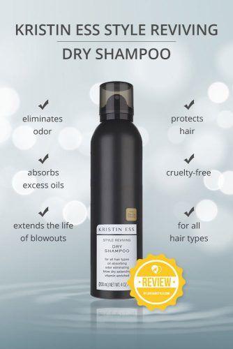 Kristin Ess Style Reviving Dry Shampoo #dryshampoo #shampoo