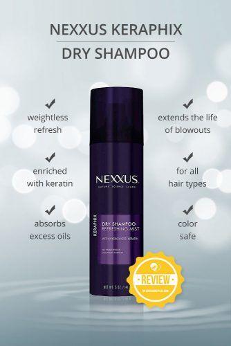 Nexxus Keraphix Dry Shampoo #dryshampoo #shampoo