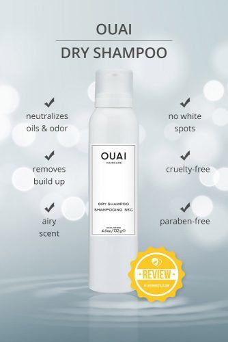 Ouai Dry Shampoo #dryshampoo #shampoo