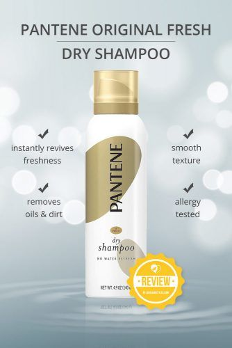 Pantene Original Fresh Dry Shampoo #dryshampoo #shampoo