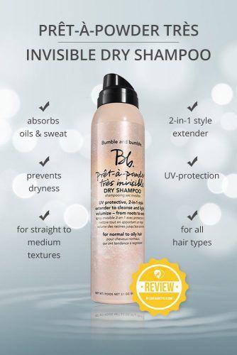 Prêt à powder Très Invisible Dry Shampoo #dryshampoo #shampoo