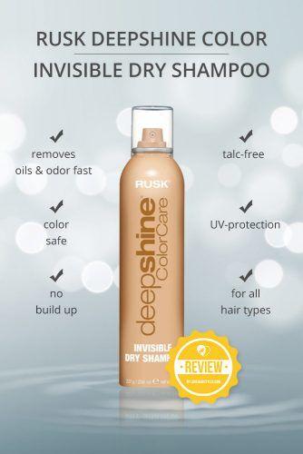Rusk Deepshine Color Invisible Dry Shampoo #dryshampoo #shampoo