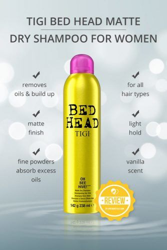 Tigi Bed Head Matte Dry Shampoo For Women #dryshampoo #shampoo