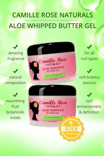 Camille Rose Naturals Aloe Whipped Butter Gel #naturalhairproducts #hairproducts