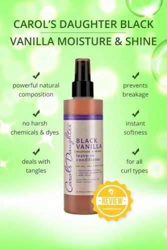 Carols Daughter Black Vanilla Moisture & Shine Leave In Conditioner #naturalhairproducts #hairproducts