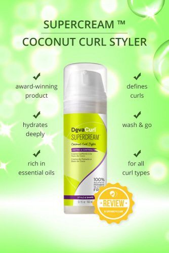 Supercream Coconut Curl Styler #naturalhairproducts #hairproducts