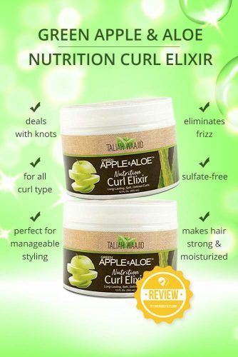 Green Apple & Aloe Nutrition Curl Elixir #naturalhairproducts #hairproducts