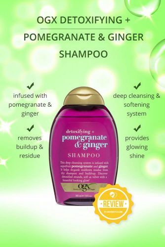 OGX Detoxifying Pomegranate & Ginger Shampoo #naturalhairproducts #hairproducts