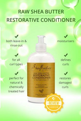 Raw Shea Butter Restorative Conditioner #naturalhairproducts #hairproducts