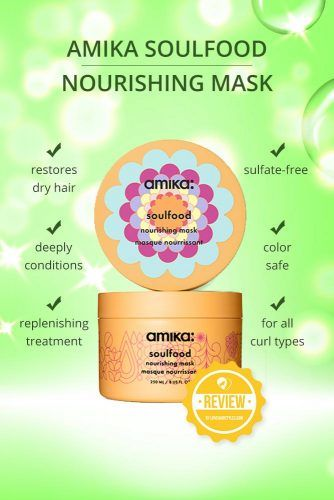 Amika Soulfood Nourishing Mask #naturalhairproducts #hairproducts