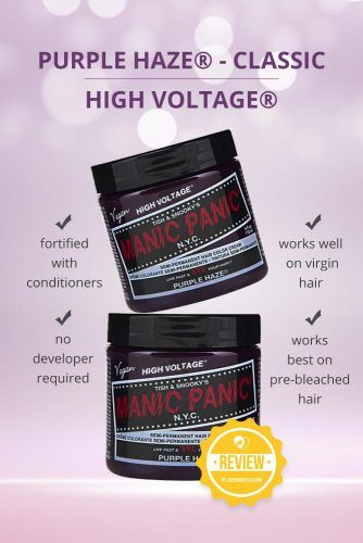 Purple Haze Classic High Voltage #purplehairdye #hairproducts