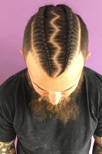 Feed-In Braids #braidsformen #mensbraids
