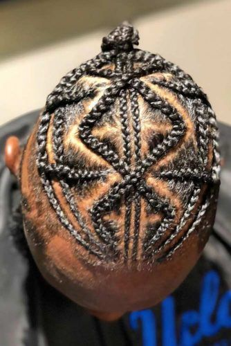 Zig Zag Braids #braidsformen #mensbraids
