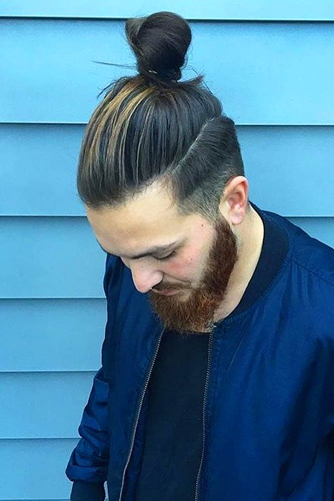 Low Fade Samurai Hairstyle #samuraihair #menhairstyles