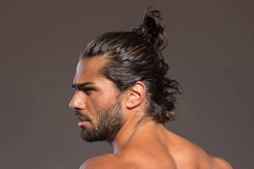 Samurai Hair Ideas Taking The Man Bun To The Next Level