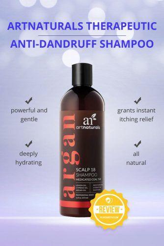 ArtNaturals Therapeutic Argan Anti Dandruff Shampoo #dandruffshampoo #shampoo #hairproducts