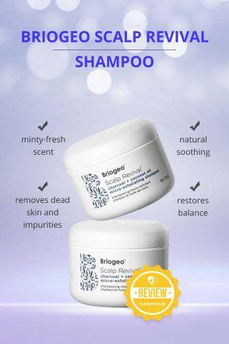 Scalp Revival Charcoal Coconut Oil Micro Exfoliating Shampoo #dandruffshampoo #shampoo #hairproducts