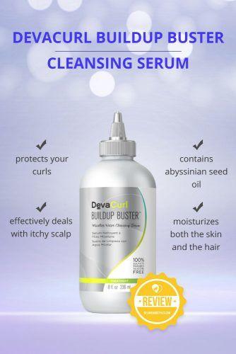 DevaCurl Buildup Buster Micellar Water Cleansing Serum #dandruffshampoo #shampoo #hairproducts
