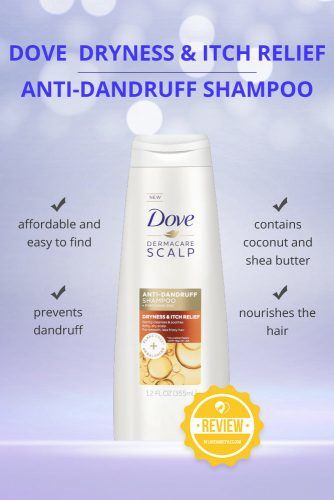 Dove Dryness & Itch Relief Anti Dandruff Shampoo  #dandruffshampoo #shampoo #hairproducts