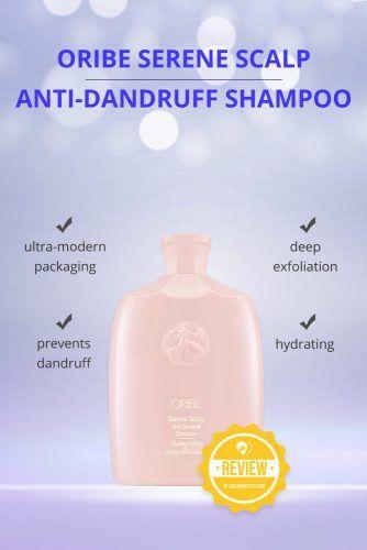 Oribe Serene Scalp Anti Dandruff Shampoo #dandruffshampoo #shampoo #hairproducts