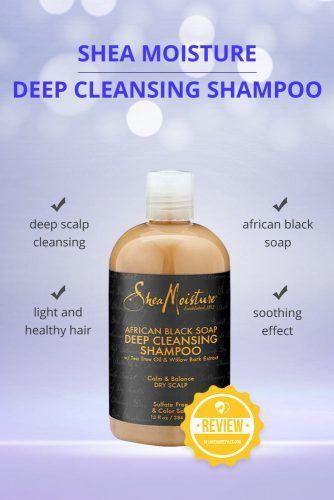 Shea Moisture African Black Soap Deep Cleansing Shampoo #dandruffshampoo #shampoo #hairproducts