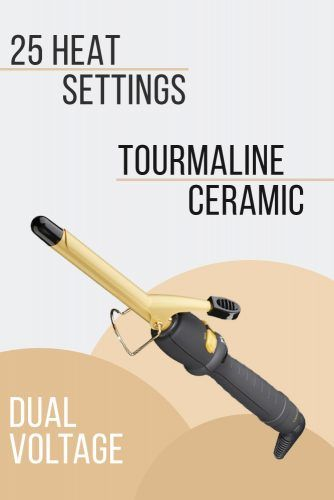 BaBylissPRO Ceramic Tools Spring Curling Iron #curlingiron #hairproducts