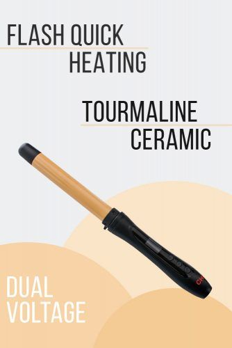 CHI 1 Tourmaline Ceramic Curling Wand #curlingiron #hairproducts
