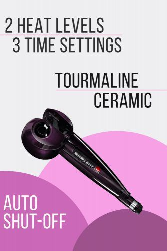 Infinitipro By Conair Curl Secret Purple #curlingiron #hairproducts