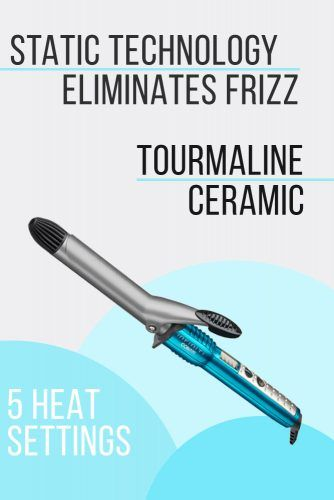 Infinity Pro By Conair 1 inch Nano Tourmaline Ceramic Curling Iron #curlingiron #hairproducts