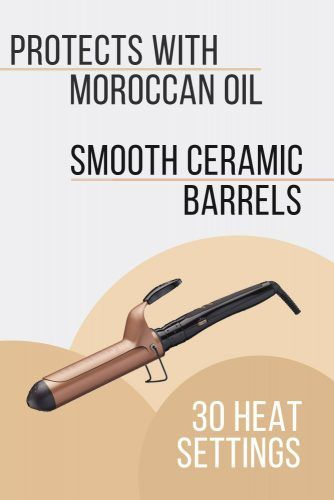One n Only Argan Heat Argan Ceramic 1½ Spring Curling Iron #curlingiron #hairproducts