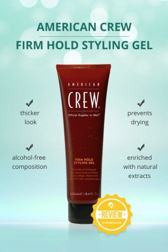American Crew Firm Hold Styling Gel #hairgel #hairproducts