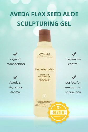 Aveda Flax Seed Aloe Strong Hold Sculpturing Gel  #hairgel #hairproducts