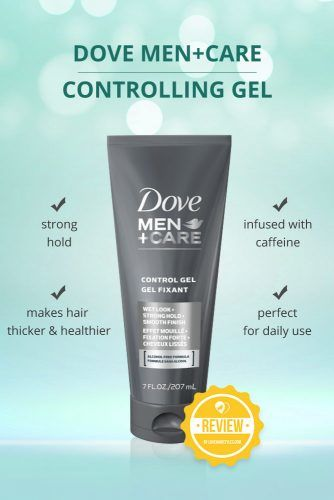 Dove Men Care Controlling Gel Hair Styling #hairgel #hairproducts