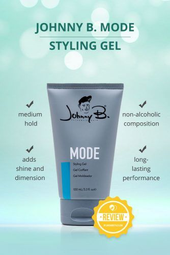 Johnny B Mode Styling Gel #hairgel #hairproducts