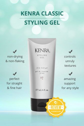Kenra Classic Styling Gel #hairgel #hairproducts
