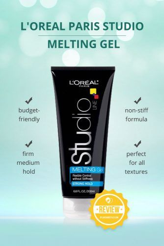 Loreal Paris Studio Line Melting Gel #hairgel #hairproducts