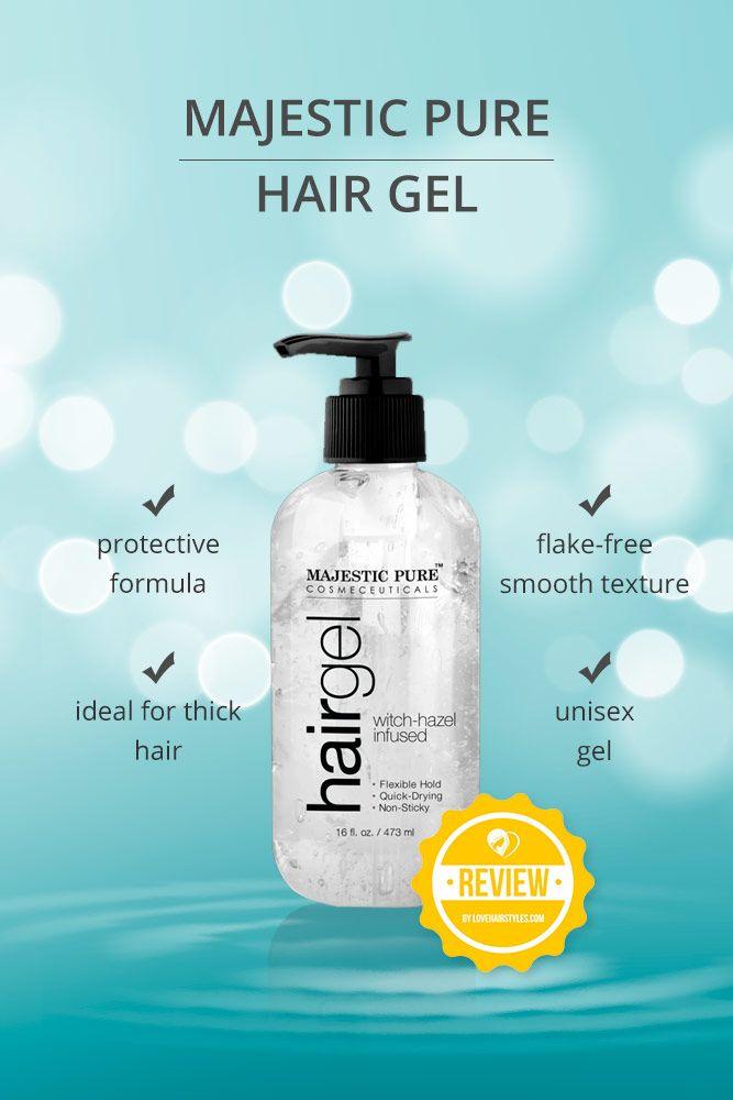 Majestic Pure Hair Gel for Men & Women