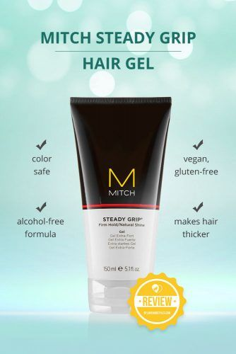 Mitch Steady Grip Hair Gel #hairgel #hairproducts