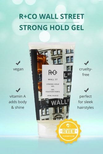 R Co Wall Street Strong Hold Gel #hairgel #hairproducts
