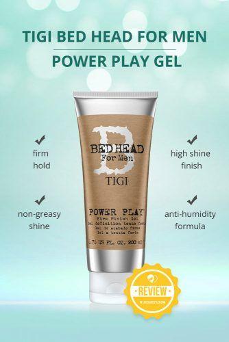 Tigi Bed Head For Men Power Play Gel #hairgel #hairproducts
