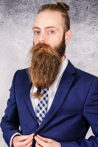 Beard Bun #beard #braids #braidedbeard