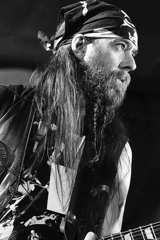 Forked Braid #beard #braids #braidedbeard