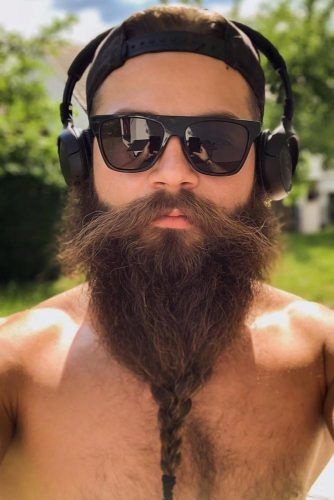How To Braid A Beard #beard #braids #braidedbeard