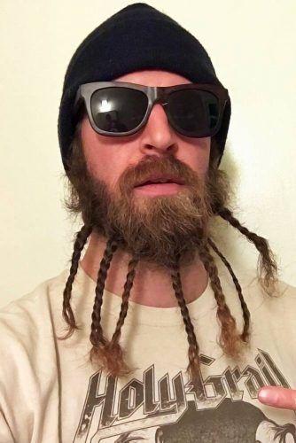 Neat Braids Beard #beard #braids #braidedbeard