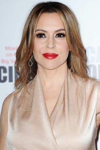 Alyssa Milano #hairtransformation #celebrityhairtransformation