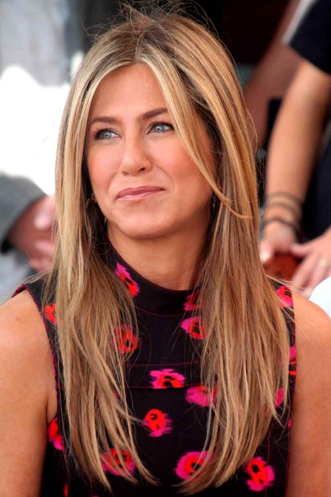 Jennifer Aniston Straight Hair #jenniferaniston #aniston