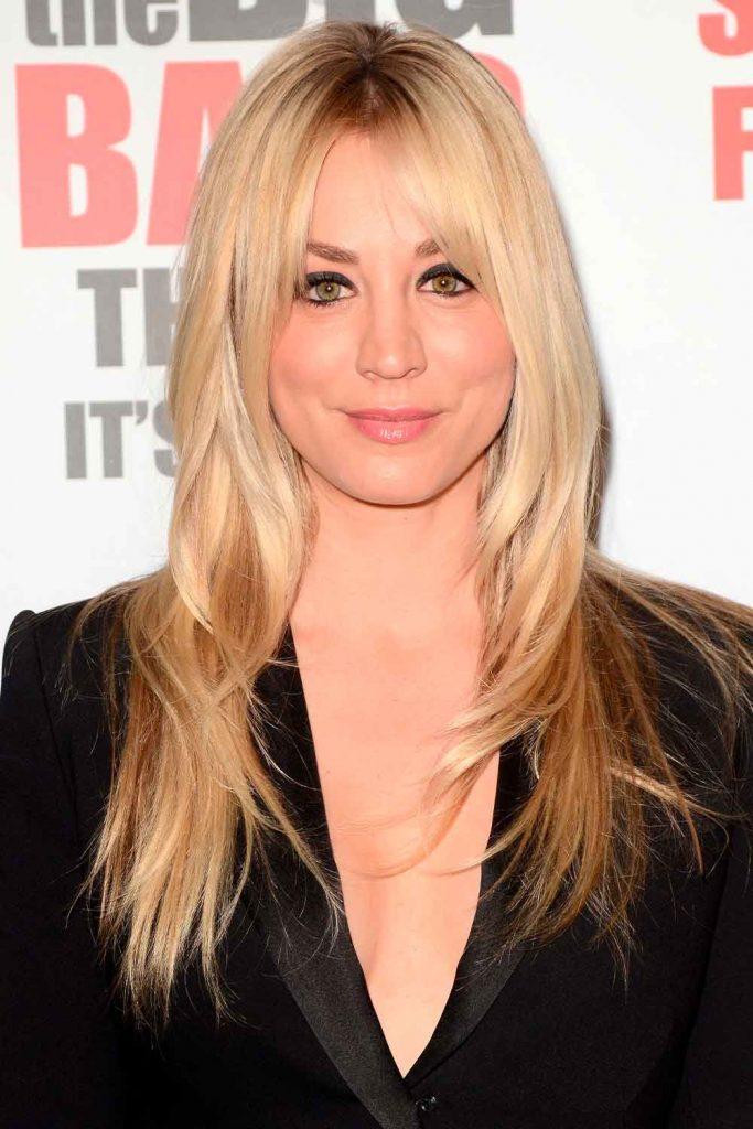 Kaley Cuoco Short Hair #blond #blondehair