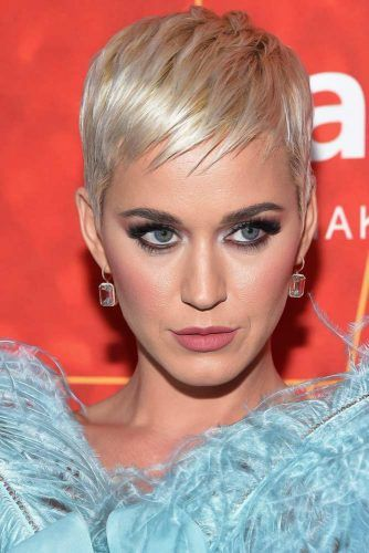 Katy Perry Pixie #hairtransformation #celebrityhairtransformation