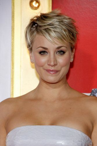 Kaley Cuoco Short Hair Gallery How To Be Hip With Any Length